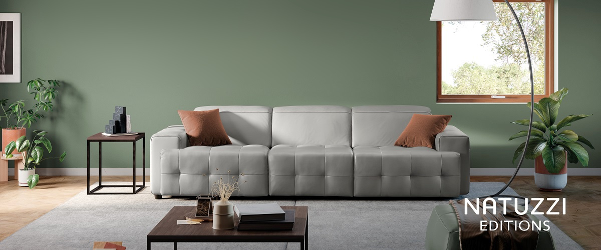 natuzzi madrid las rozas españa sofás italianos piel