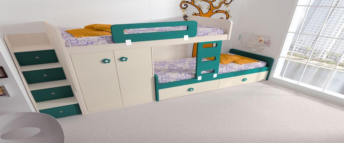 Elegant Garabatos Europolis Mobiliario Juvenil Ros Dormitorio