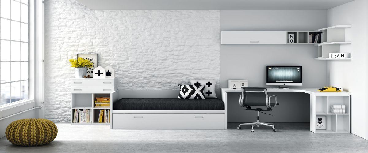 Teens mobiliario juvenil contempor neo europolis - Mueble juvenil europolis ...