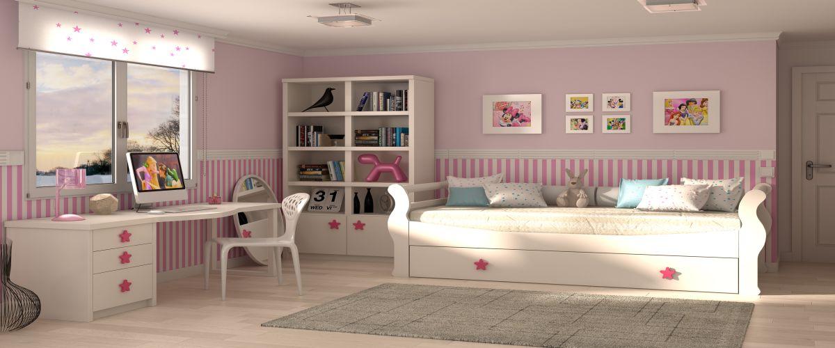 B bel juveniles mobiliario y decoracion europolis - Mobiliario infantil europolis ...