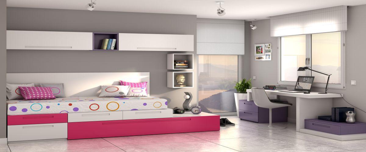 B bel juveniles mobiliario y decoracion europolis - Mueble juvenil europolis ...