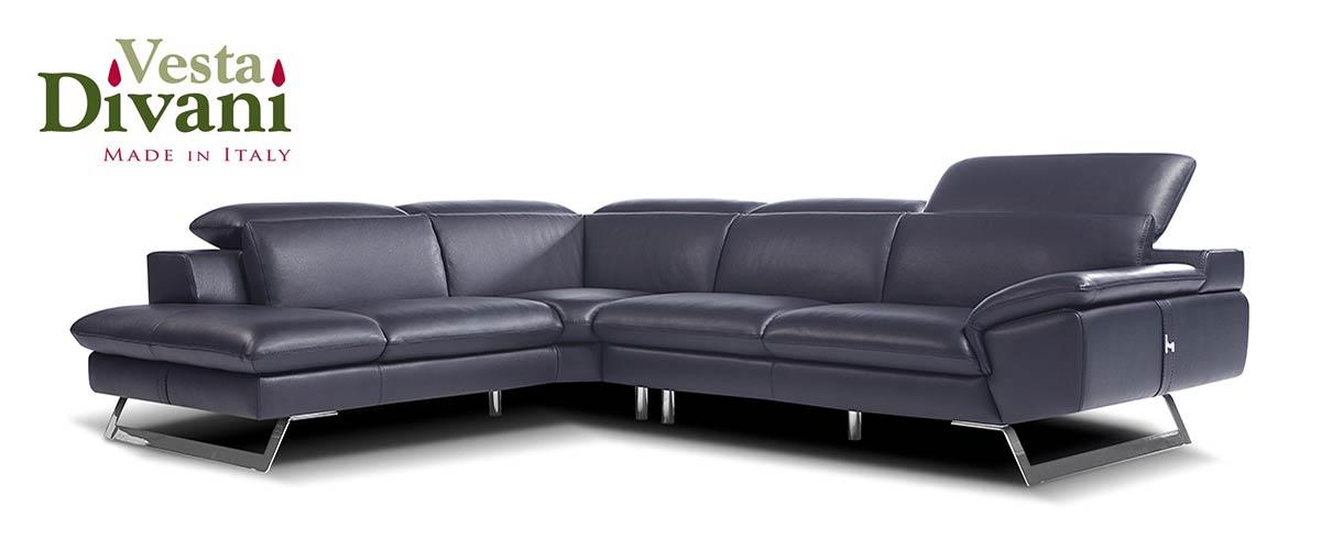 Sofas de cuero italianos baci living room - Sofas en piel disenos italianos ...