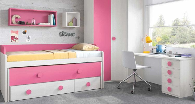 Dormitorios juveniles for Muebles infantiles modernos