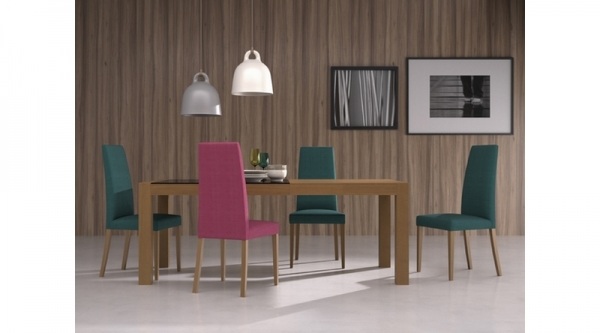 Conjunto oferta comedor mesa sillas a elegir sillas mesas comedores europolis - Muebles ninos europolis ...