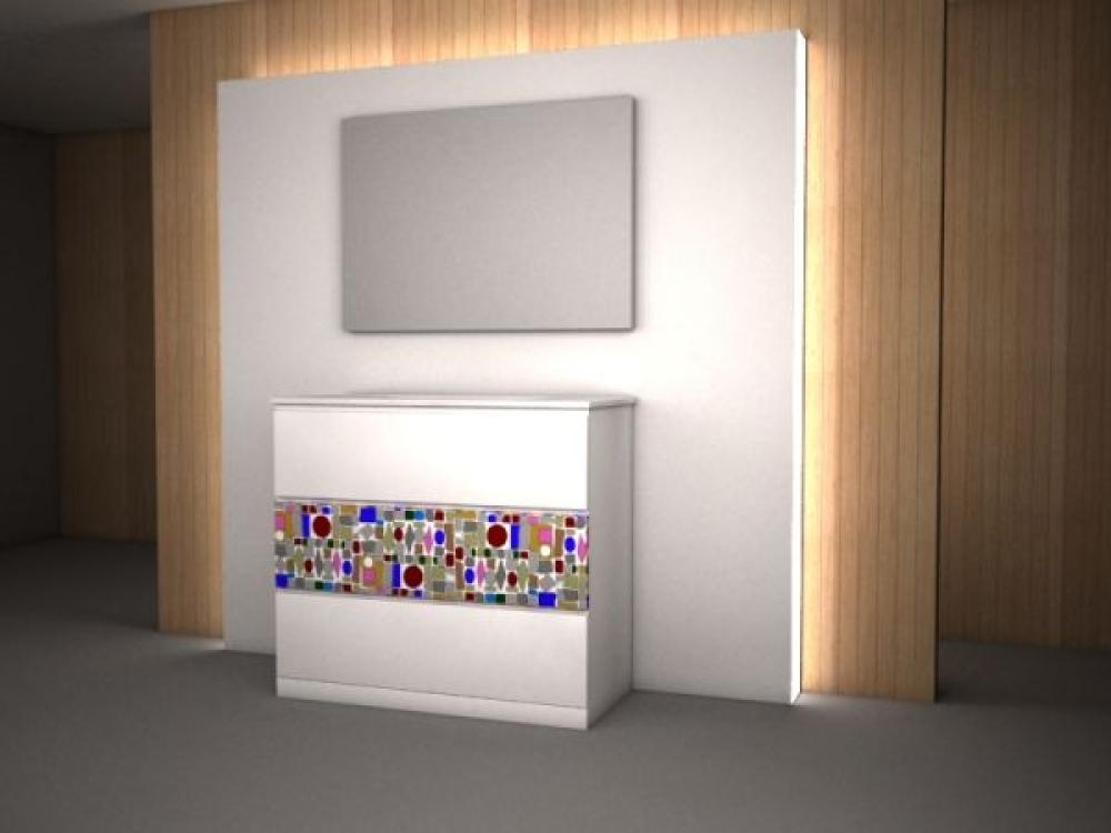 Mueble con Serigrafia  Muebles de baño  Europolis