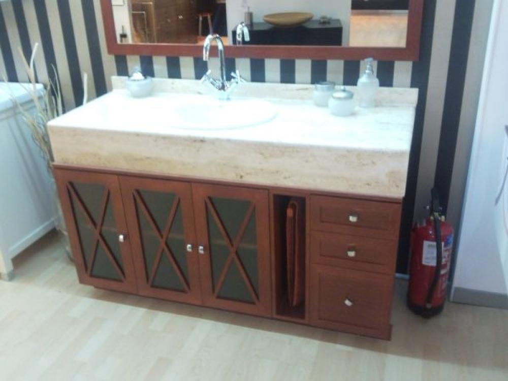 Mueble r stico a medida en liquidaci n muebles de ba o for Liquidacion muebles de bano
