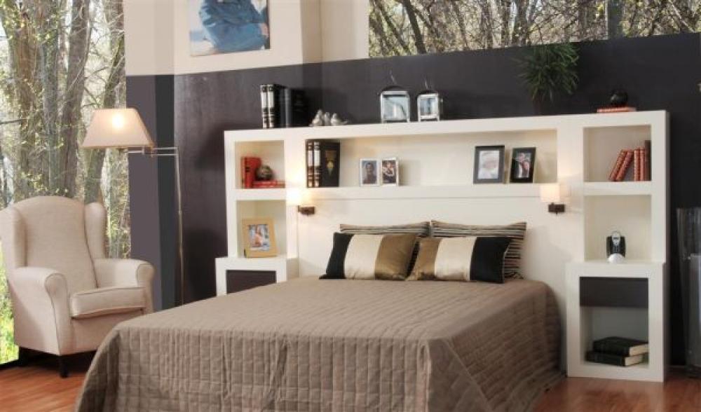 Dormitorio con librer a oromana dormitorios librer as for Outlet vajillas madrid
