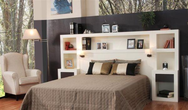 Dormitorio con librer a oromana dormitorios librer as europolis - Muebles ninos europolis ...