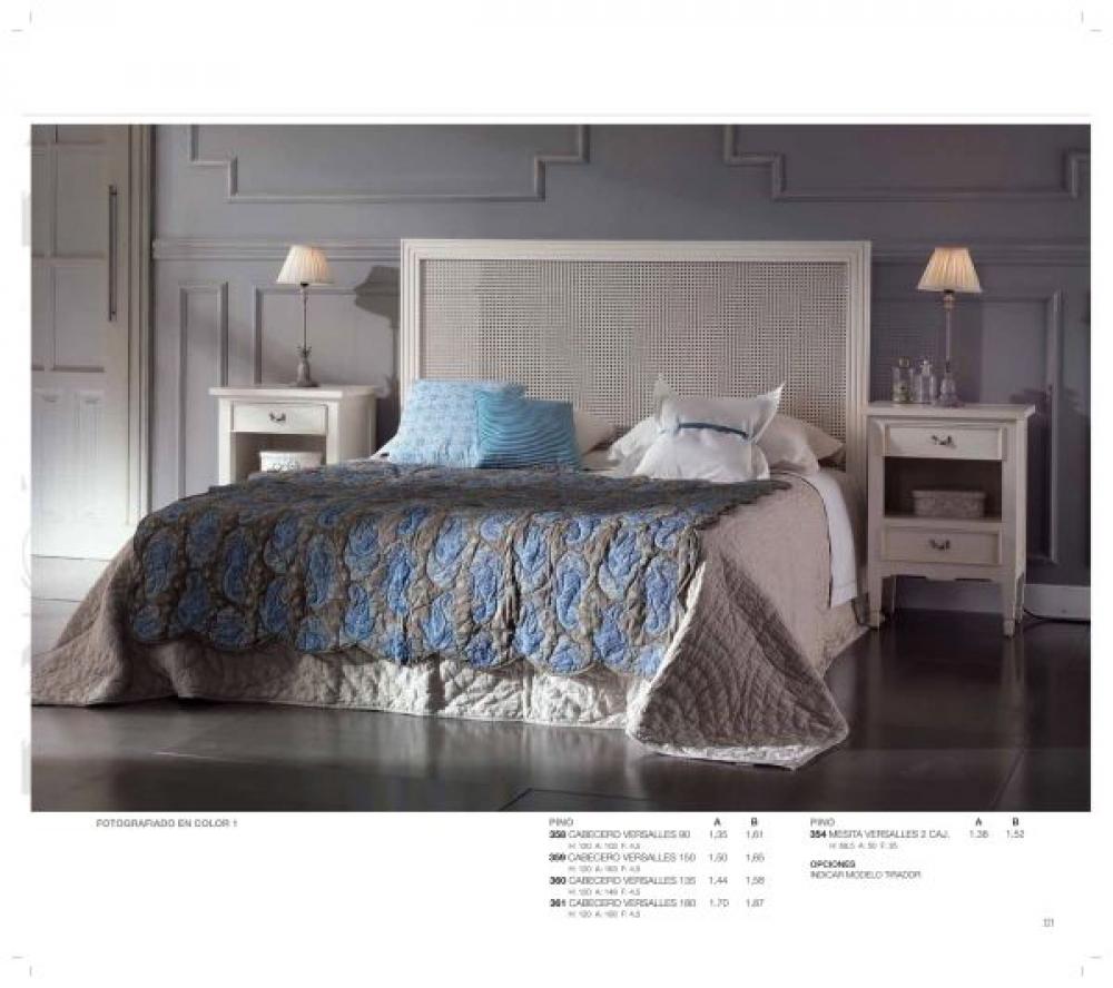 Cama cabecero rejilla dormitorios camas europolis - Cabeceros de rejilla ...