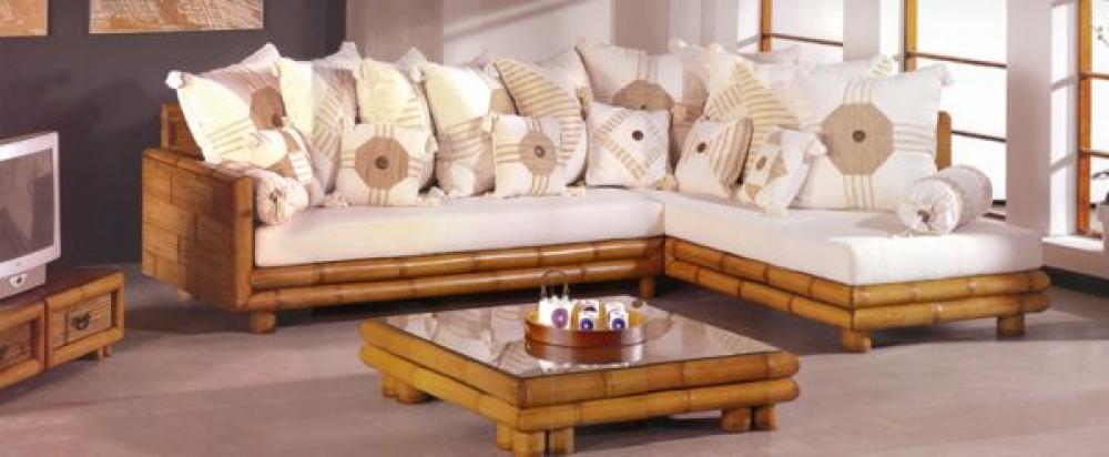 Rinconera bambu sof s exterior europolis - Sofas en europolis ...