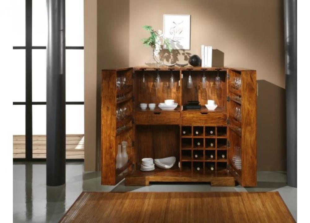 Mueble bar auxiliares aparadores europolis for Mueble bar moderno para casa