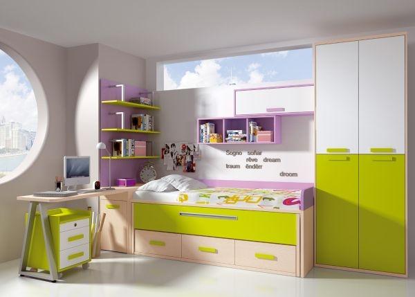 Banzai juvenil 4 dormitorios juveniles europolis - Muebles ninos europolis ...