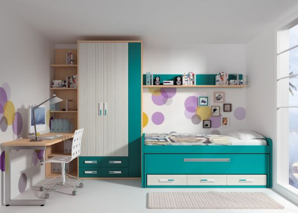 Banzai juvenil 7 dormitorios juveniles europolis - Muebles ninos europolis ...
