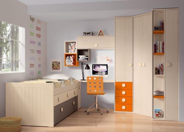Banzai juvenil 8 dormitorios juveniles europolis - Muebles ninos europolis ...