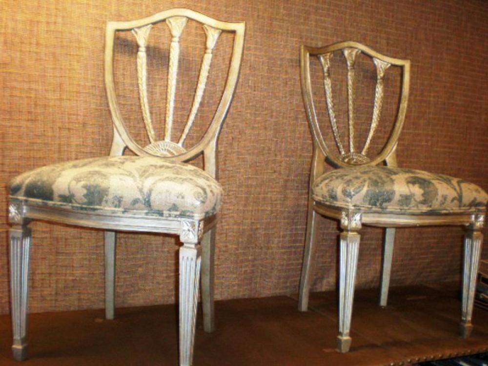 Sillas restauradas sillas tapicer a europolis - Restaurar sillas antiguas ...