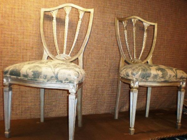 Sillas restauradas sillas tapicer a europolis - Restaurar sillas de madera ...