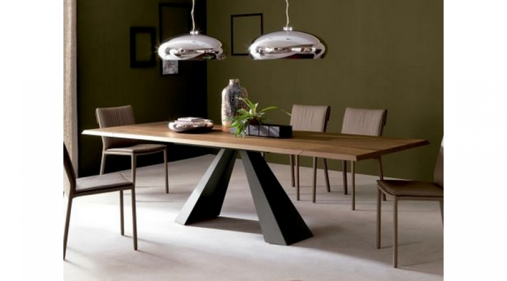 Mesa comedor fija o extensible Eliot Wood Cattelan