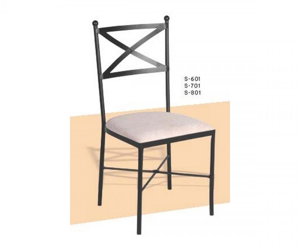 Sillas de fierro interesting sillas para camping terraza for Modelos de sillas de hierro