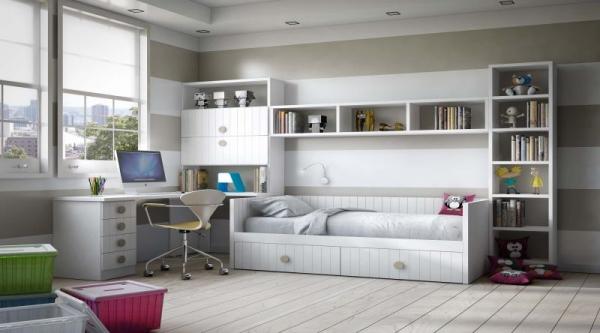 Londres 1 dormitorios juveniles europolis - Muebles ninos europolis ...