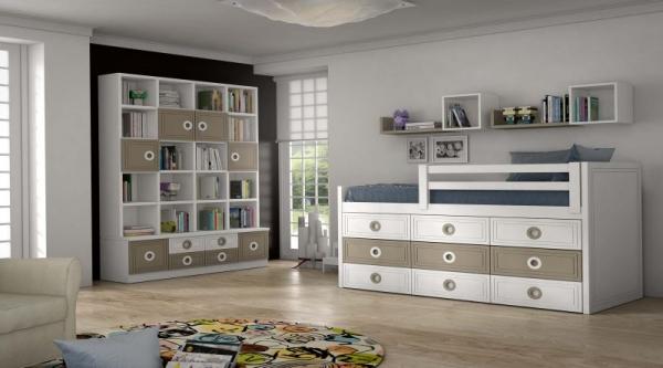 Londres 4 dormitorios juveniles europolis - Muebles ninos europolis ...