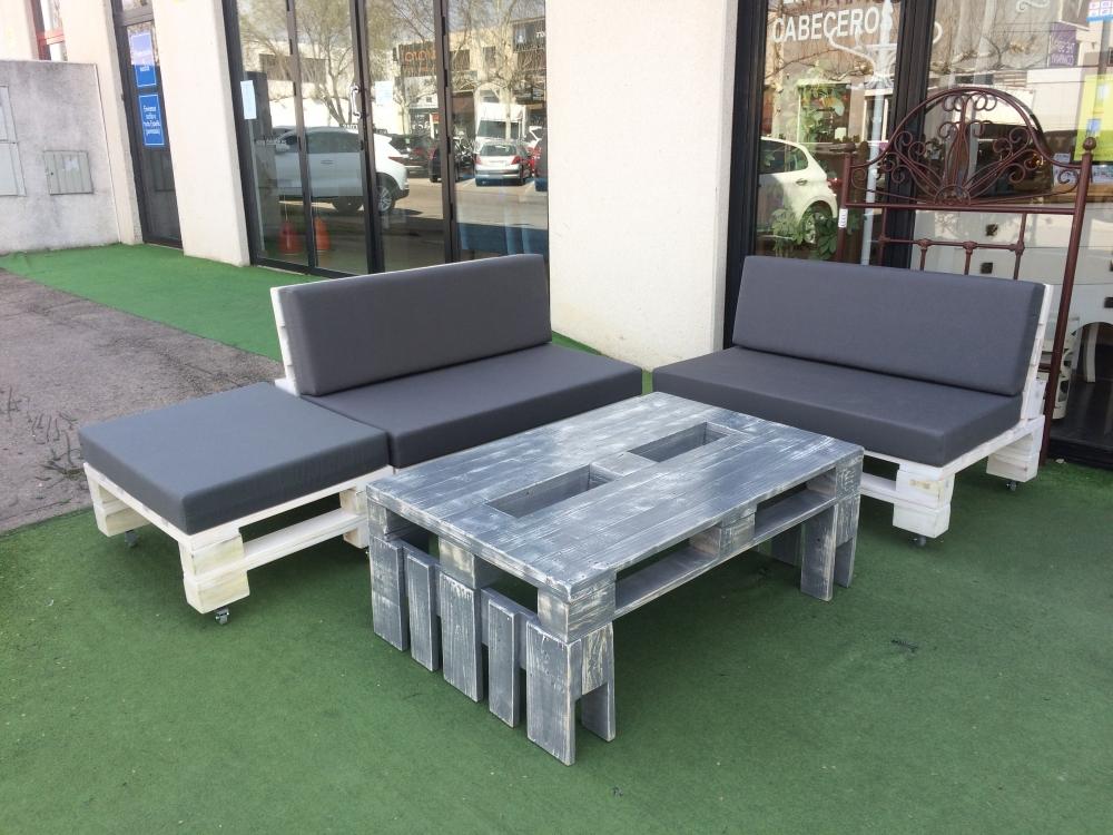 Muebles palets europolis for Europolis salon