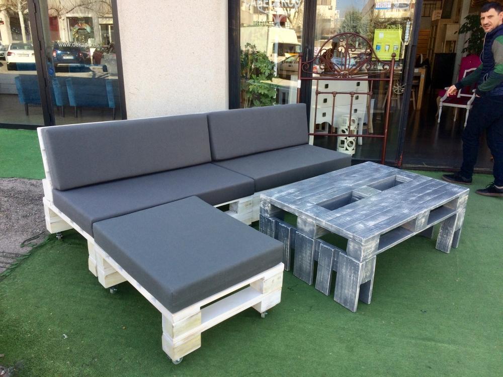 muebles palets - Europolis