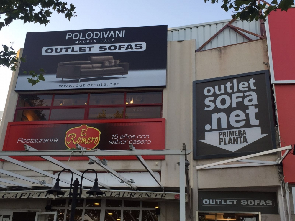 OUTLET POLODIVANI